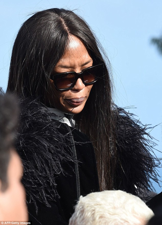 Naomi Campbell weeps at funeral of fashion designer Azzedine Alaïa in Tunisia