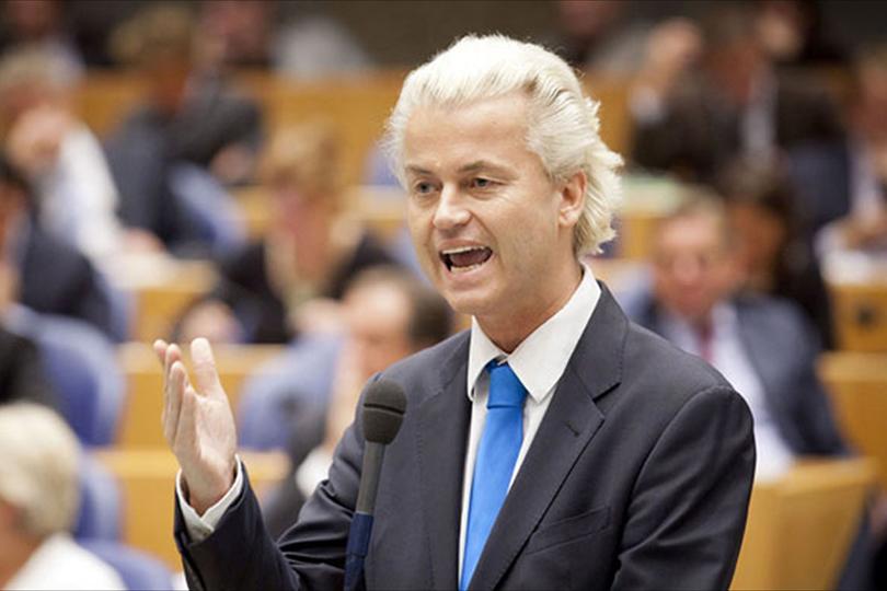 """هولندا.. المتطرف """"فيلدرز"""" يعد بإنشاء """"وزارة تطهير من الإسلام""""و حظر المساجد و عدم استقبال المهاجرين من المسلمين"""