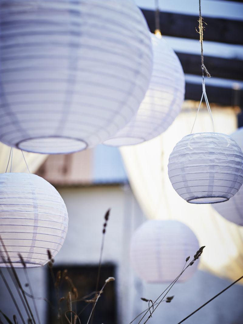 lampade solari da giardino IKEA collezione estate 2018