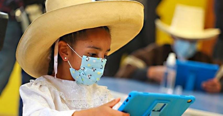 MINEDU terminará en marzo de distribuir las tabletas a colegios rurales para educación remota