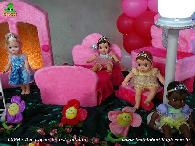 Ornamentação de aniversário infantil Princesas Baby Disney