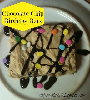 Chocolate Chip Bars