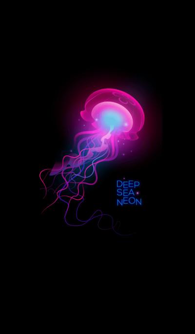 Jelly Fish (Deep Sea Neon)