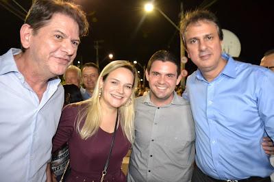 Blog do Tidi: Prefeita de Pires Ferreira, Marfisa Aguiar e Líder ...