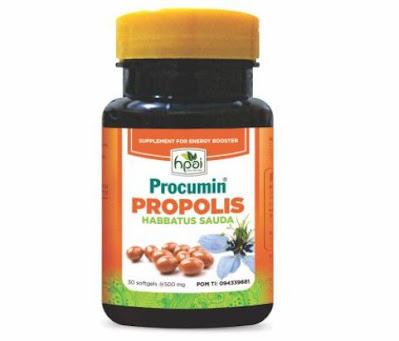 Procumin Propolis HNI untuk Stamina