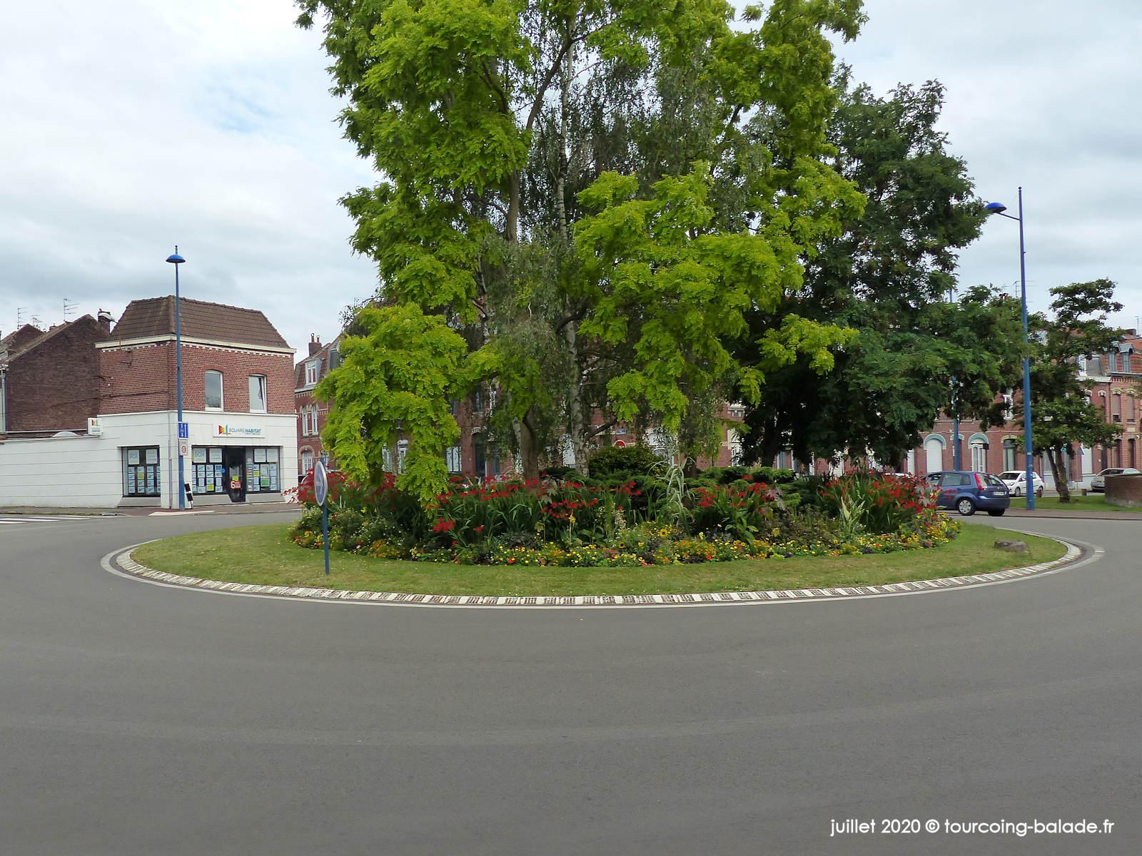 Rond Point Boulevard de l'Égalité, Tourcoing 2020