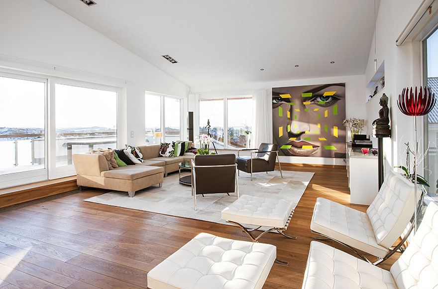 D coration int rieure contemporaine d cor de maison d coration chambre - Decoration interieur maison moderne ...