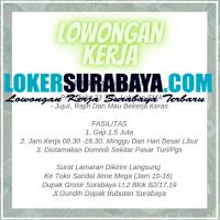 Karir Surabaya di Toko Sandal Ilene Mega September 2020