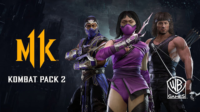 mortal kombat 11 kombat pack 2 john rambo mileena rain dlc fighters fighting game nether realm studios warner bros interactive entertainment pc ps4 switch xb1