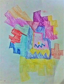 """""""Kiko's abstract creation-monster L"""""""