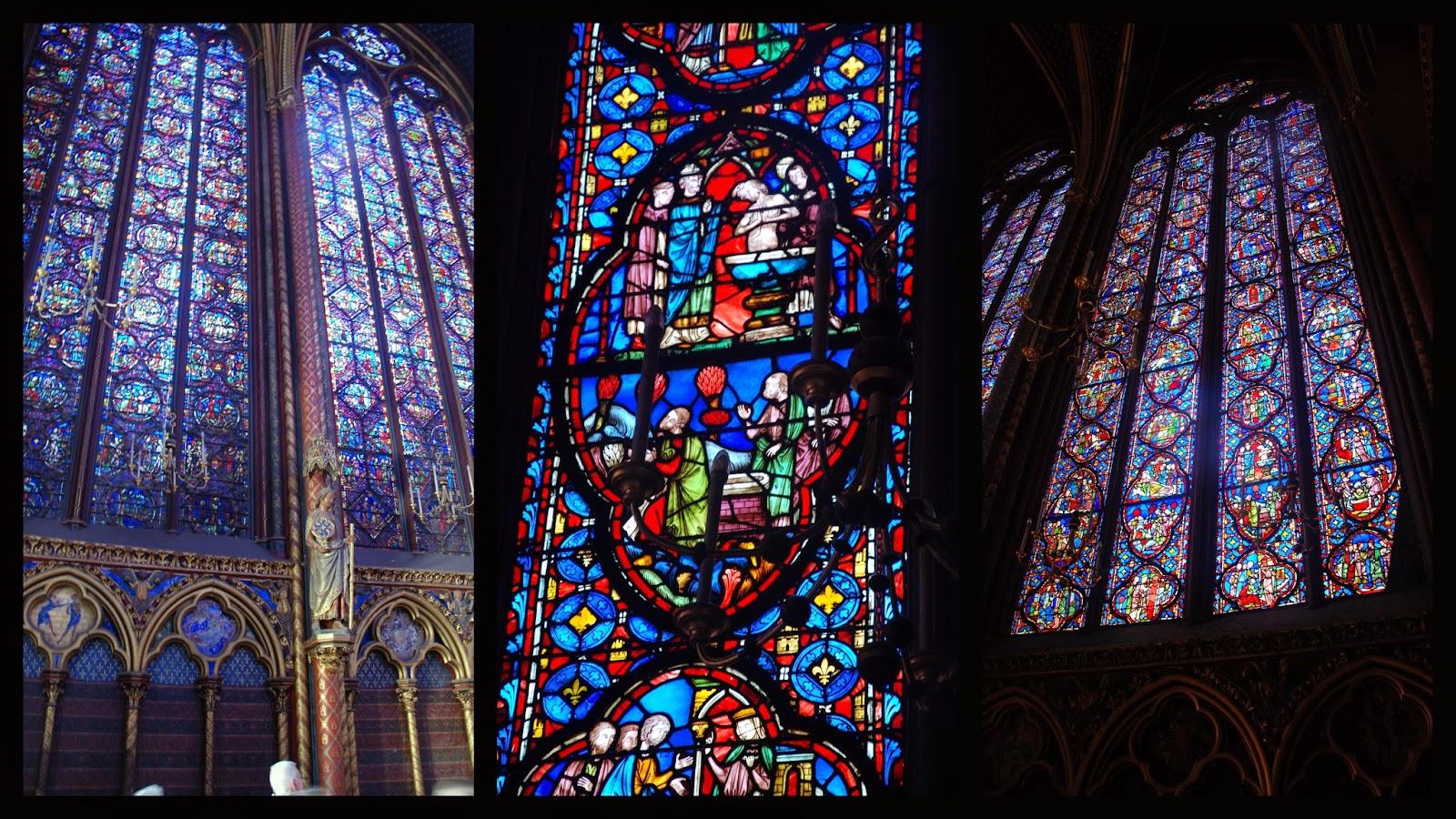 Vidrieras de la Saint Chapelle, París
