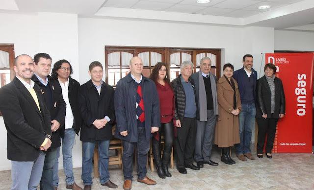 diego kravetz reunido con secretarios de seguridad bonaerenses