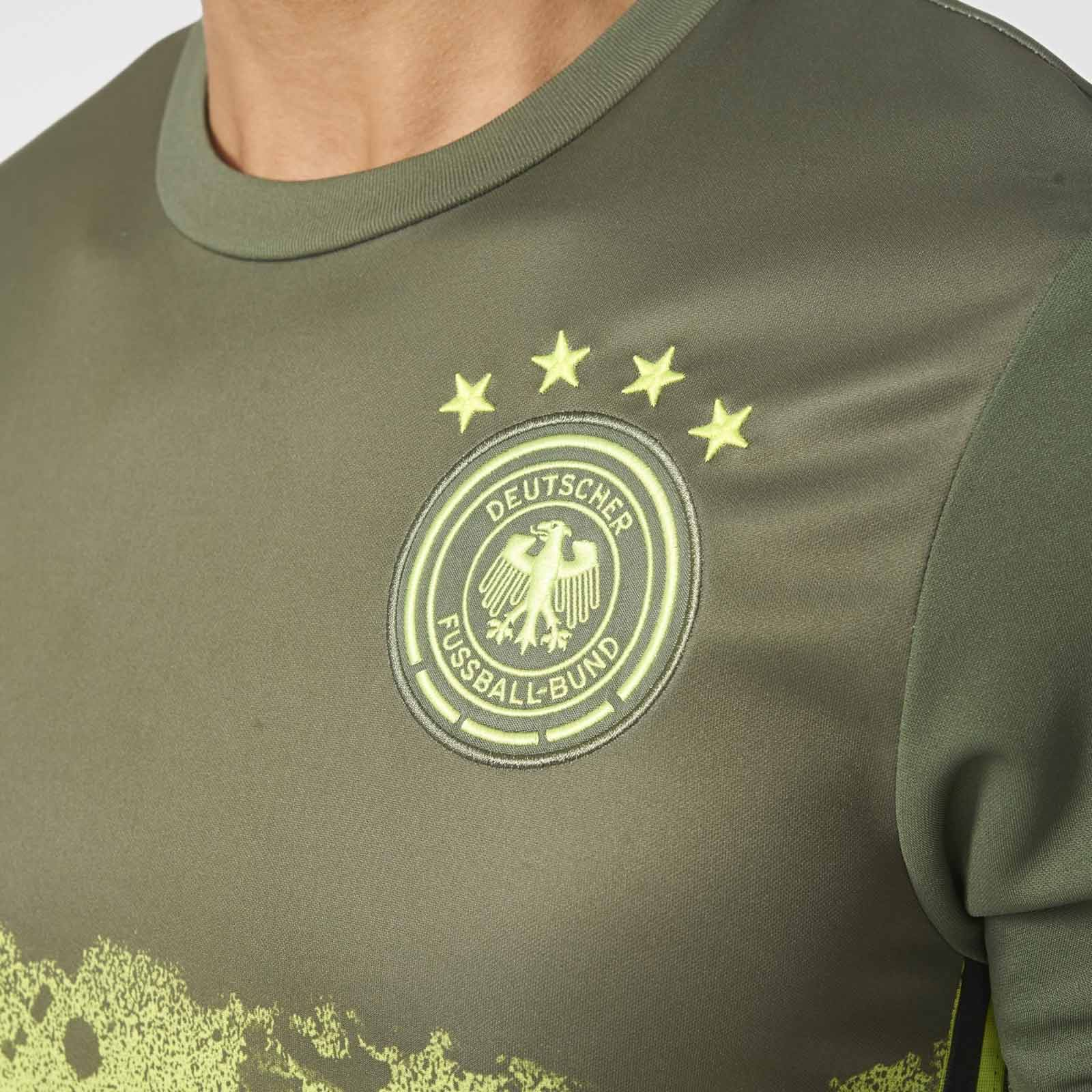 Germany Euro 2016 Away Pre-match Shirt