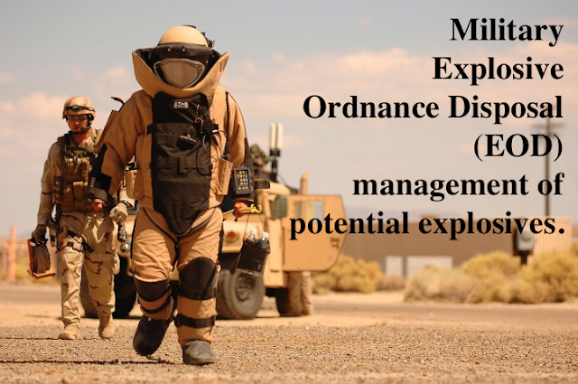 Explosive Ordnance Disposal (EOD) is a joint service military occupational skill within the Army, Marine Corps, Navy, and Air Force