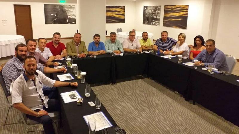 """Συνάντηση των εκλεγμένων περιφερειακών συμβούλων του συνδυασμού """"Περιφερειακή Σύνθεση"""""""