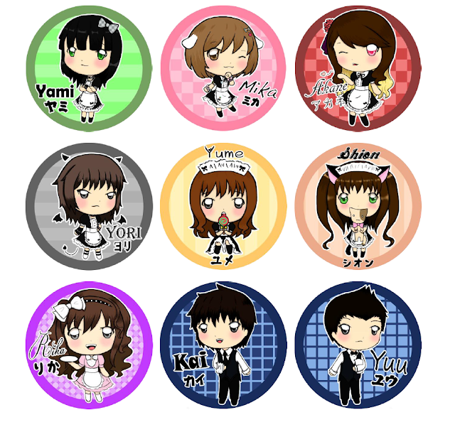 finest selection 19c26 c4f46 An maidbutler cafes wont be completed with out these.... so which of this  chibi(s) is your fave