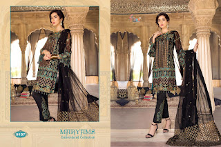 Shree fab Maryam Embroidered collection pakistani Suits