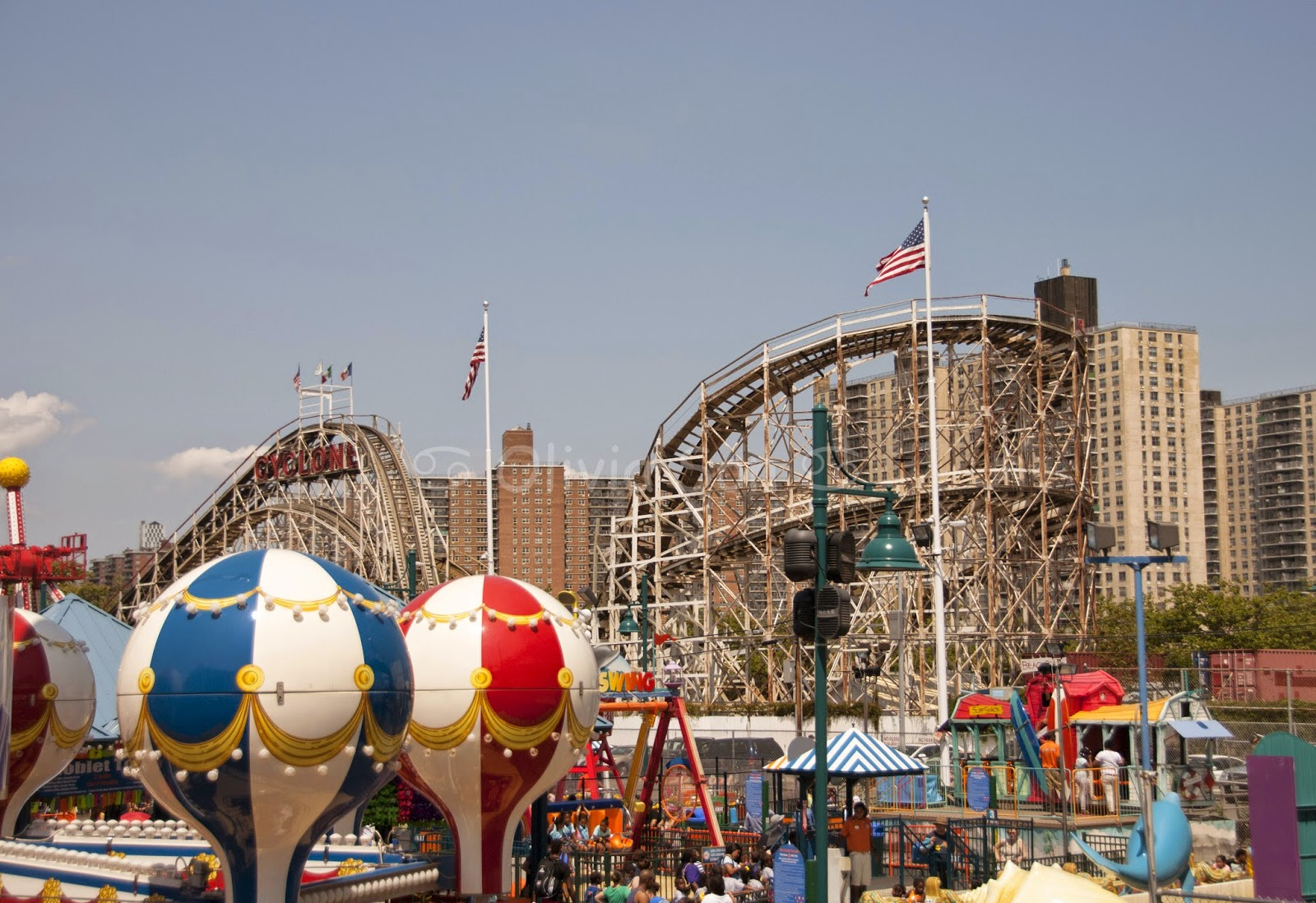 cyclone coney island, new york city, usa