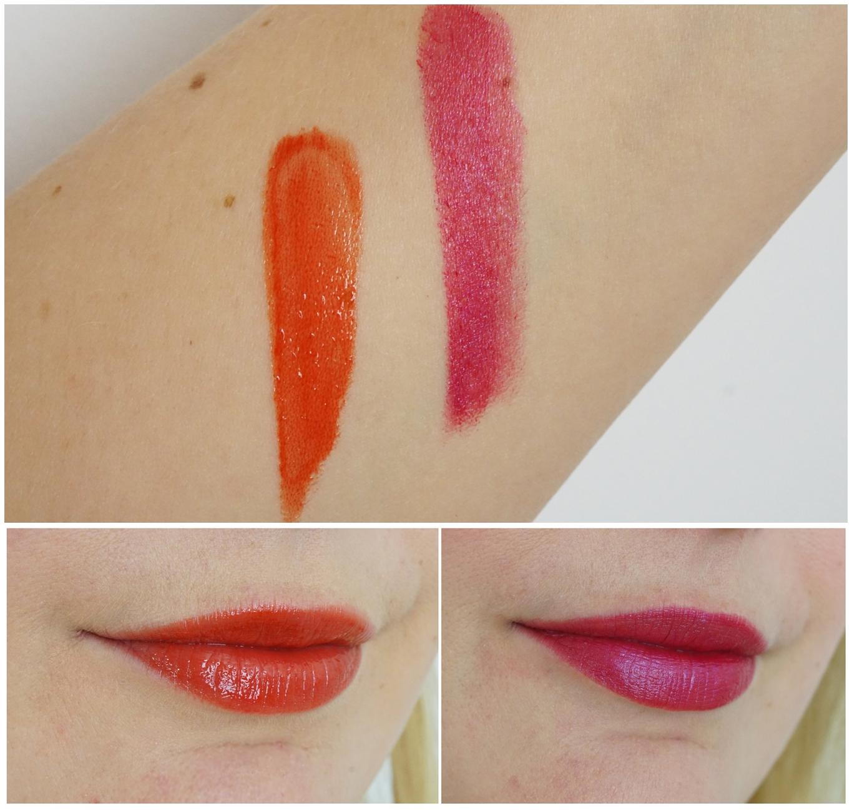 Alverde - Lippenstift 29 Fabulous Pink, Lipgloss Maximize Effect - 70 Red Kiss
