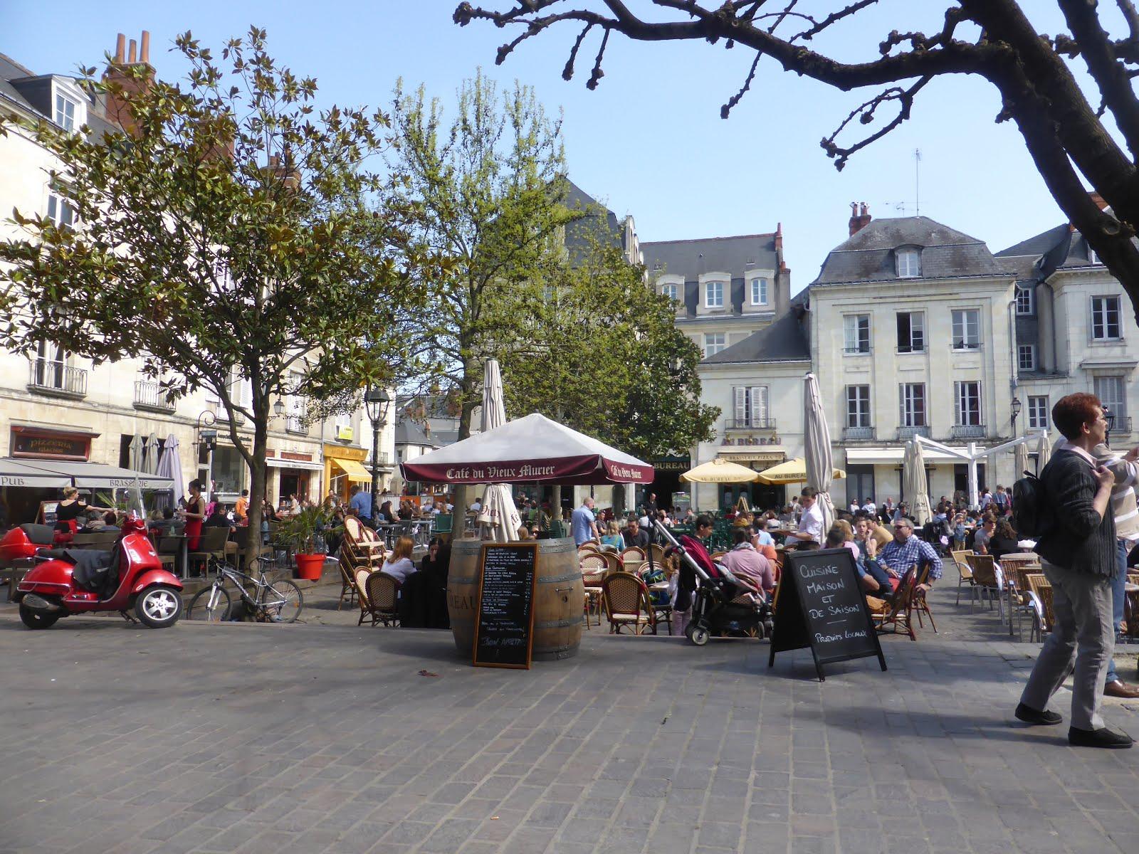 Brocante La Ferte St Aubin experience loire | loire valley france tourism: april 2017