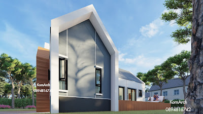 รับออกแบบบ้าน,แบบบ้านชั้นเดียว,แบบบ้านสไตล์นอร์ดิก