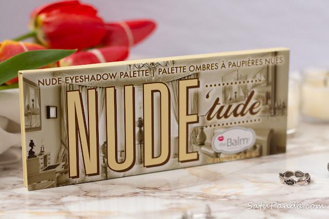 theBalm Nude tude упаковка