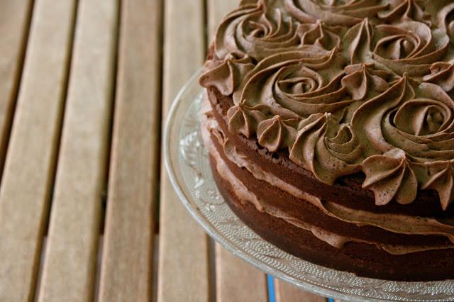 tarta de xocolata i trufa