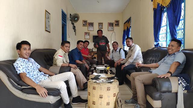 Bahas Program 2019, Plt. Ketua PWI Lampung Mampir Ke PWI Lamsel