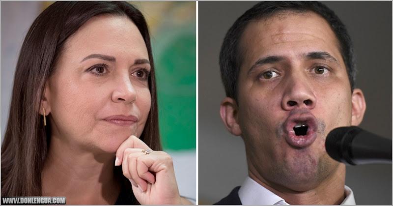 Maria Corina dice que Guaidó cometió errores que generan desconfianza