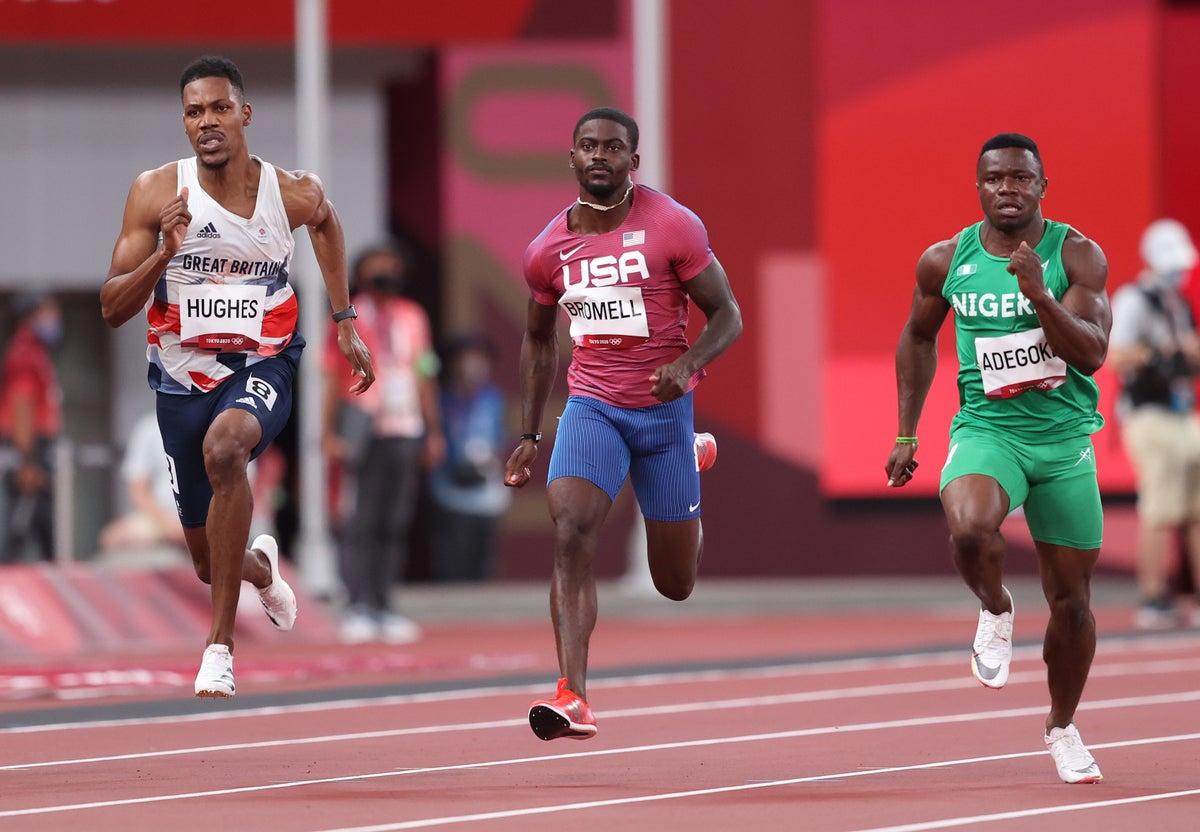 Trayvon Bromell; USA Olympic Team; Tokyo 2020