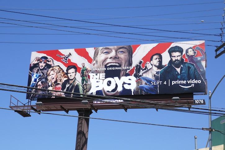 Boys season 2 billboard