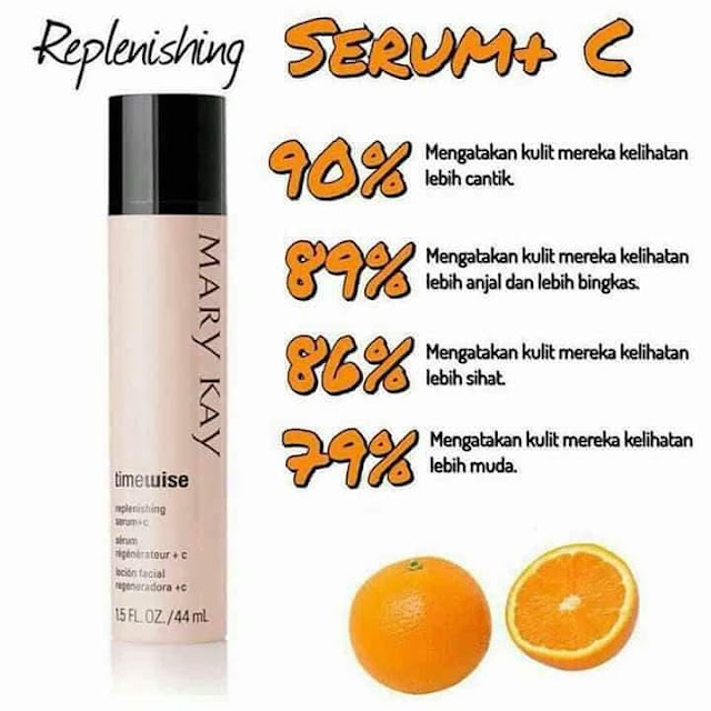 mary kay timewise replenishing serum c testimoni