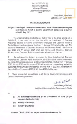 Orders issued by the Center withholding DA for employees
