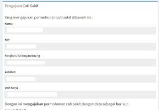 Cara Mengajukan Cuti Pada Aplikasi SINAGA BKD Provinsi Jawa Tengah - Mazzajie