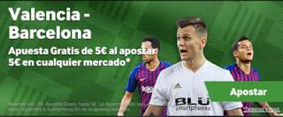 betway Apuesta 5 y llévate 5 Valencia vs Barcelona 7 octubre