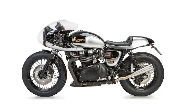 Triumph Bonneville By Tamarit Motorcycles Hell Kustom