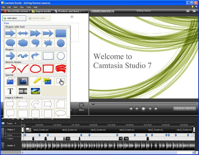 Software Merekam Aktivitas Desktop Camtasia Studio