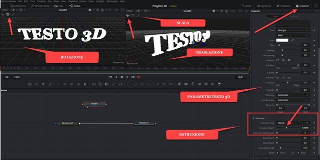 editare testo 3d in fusion