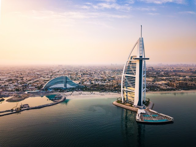 Burj Al Arab Which Is The World's First Seven Star Hotel