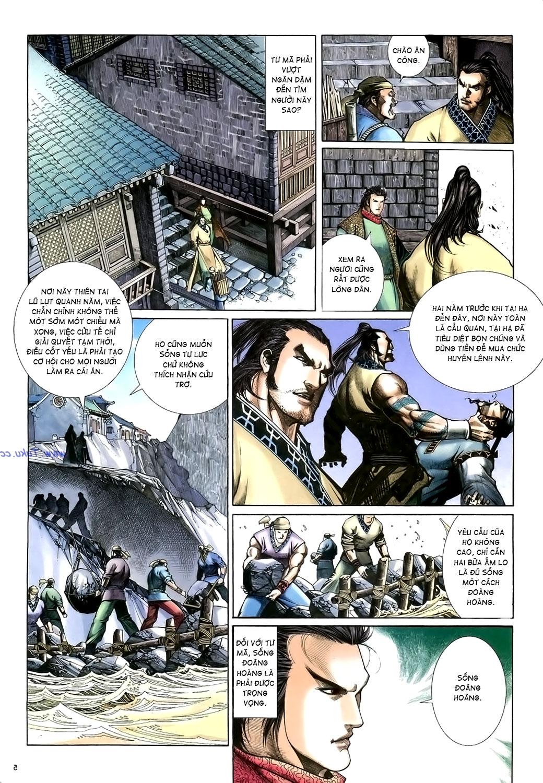 Anh hùng vô lệ Chap 15: Hổ thét long gầm người cạn chén  trang 6