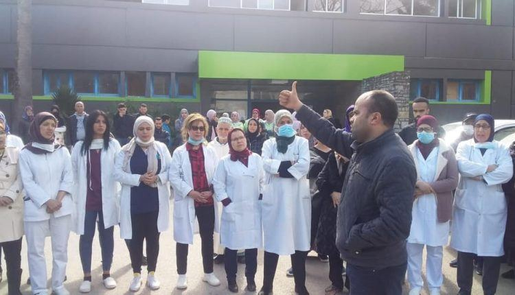 """غياب وسائل محاربة """"كورونا"""" يُخرج أطباء وممرضين للاحتجاج"""