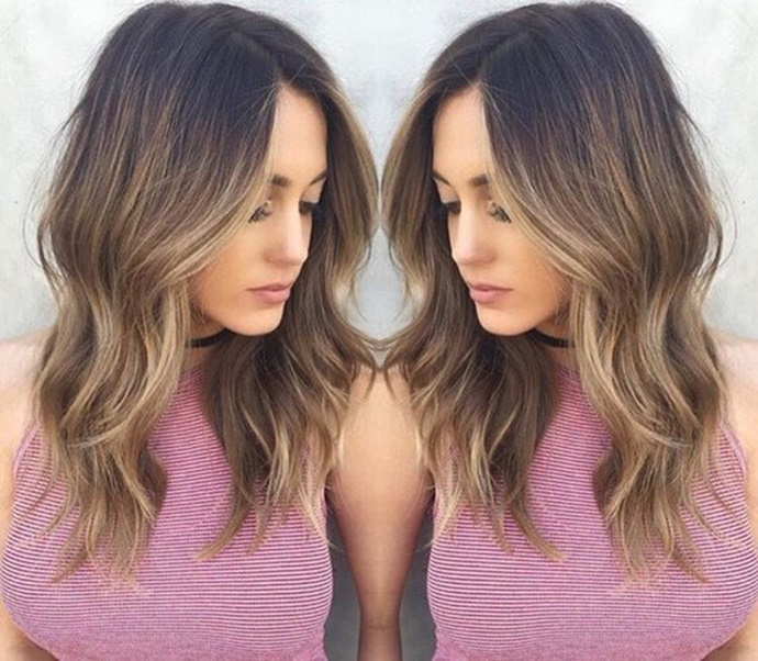 6 Hot Partial Highlights Ideas for Brunettes - Hair ...