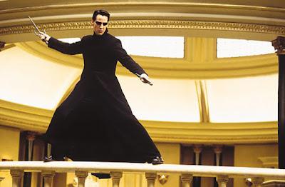 Captura de pantalla de la película Matrix