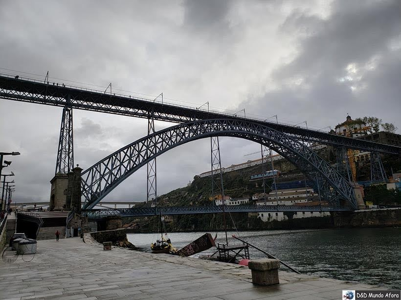 Ponte D. Luis  - O que fazer no Porto, Portugal
