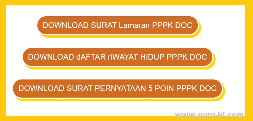 download blangko dokumen untuk pemberkasan PPPK 2021