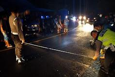 Ruas Jalan Munte Kembali Makan Korban, Pengendara Sepeda Motor Tewas Terlindas Truck