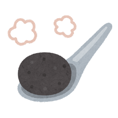 つけ麺の焼石のイラスト