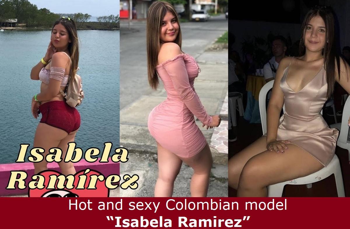 "Hot and sexy Colombian model ""Isabela Ramirez""."
