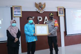 KPAI berikan penghargaan Atas Kinerja Polres Metro Jakarta Barat