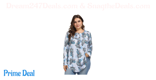 65% off Women's Plus Size V Neck Tunic Tops size  16W